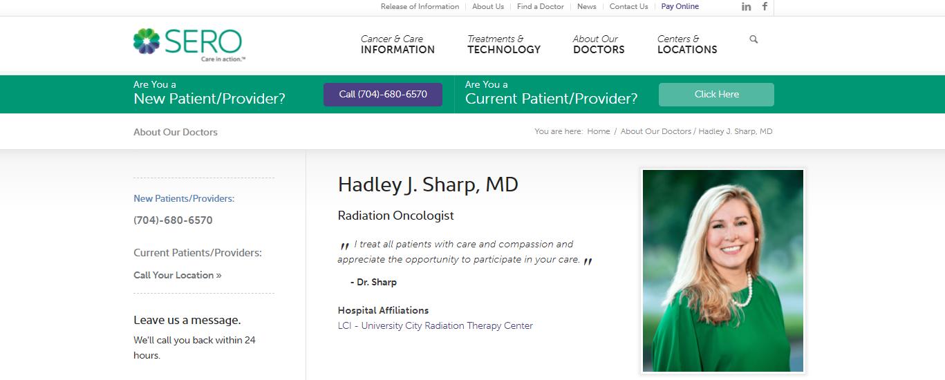 Hadley Sharp, MD