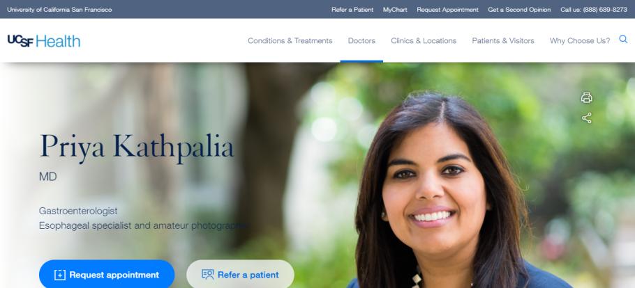 Dr. Priya Kathpalia in San Francisco, CA