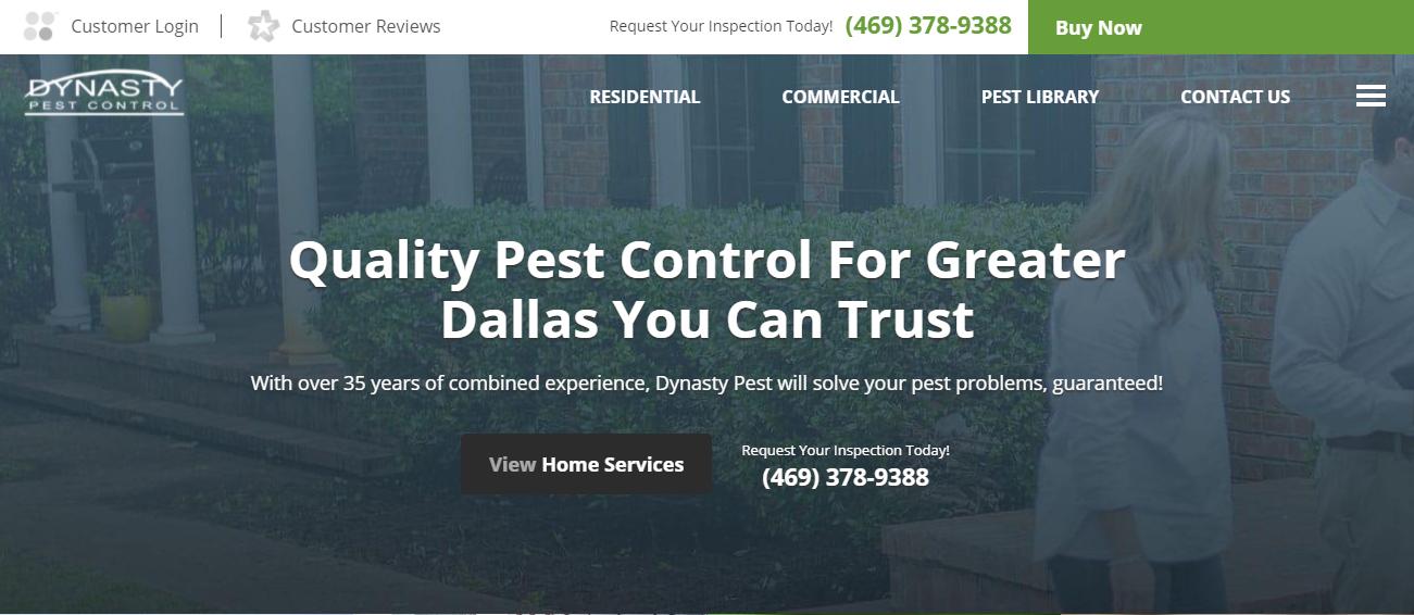 Dynasty Pest Control in Dallas, TX
