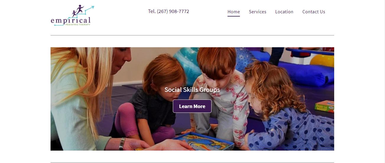 Empirical Pediatric Therapy in Philadelphia, PA