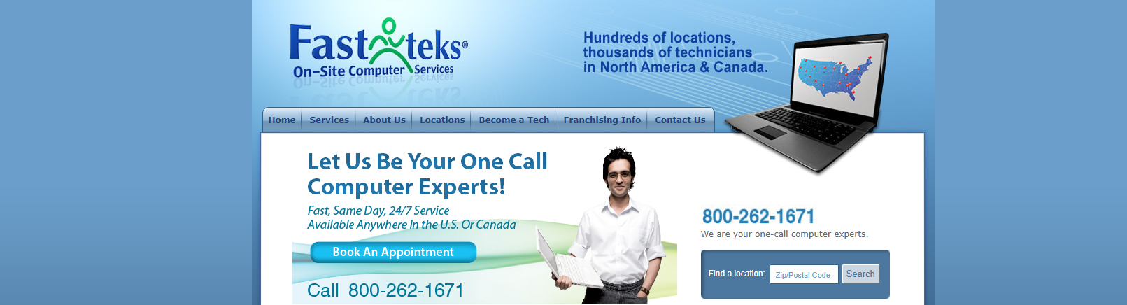 Fast-teks on-site computer services
