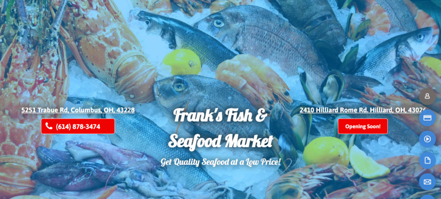 Frank's Fish & Seafood Market in Columbus, OH