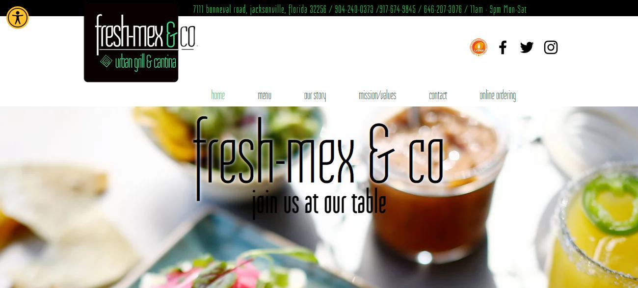 Fresh-Mex & Co. in Jacksonville, FL