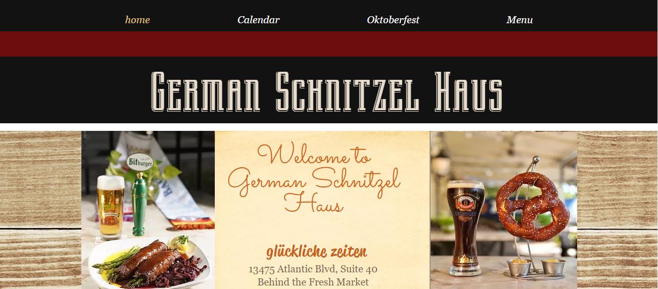 German Schnitzel Haus in Jacksonville, FL
