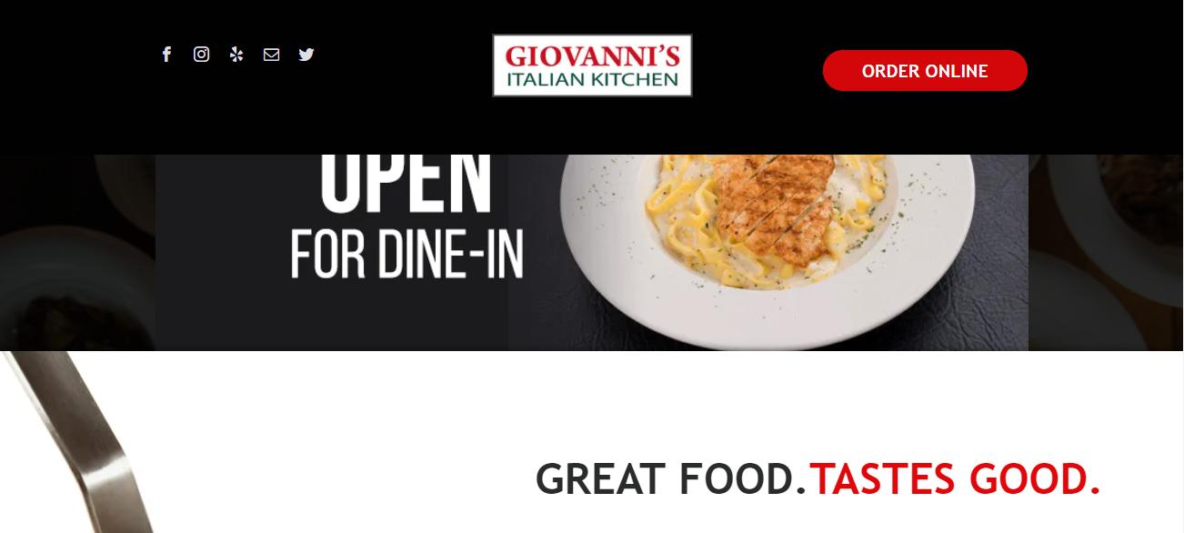 Giovanni's Italian Kitchen in Fort Worth, TX