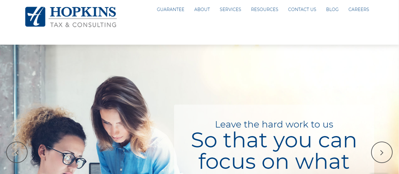 Hopkins Tax & Consulting in Austin, TX