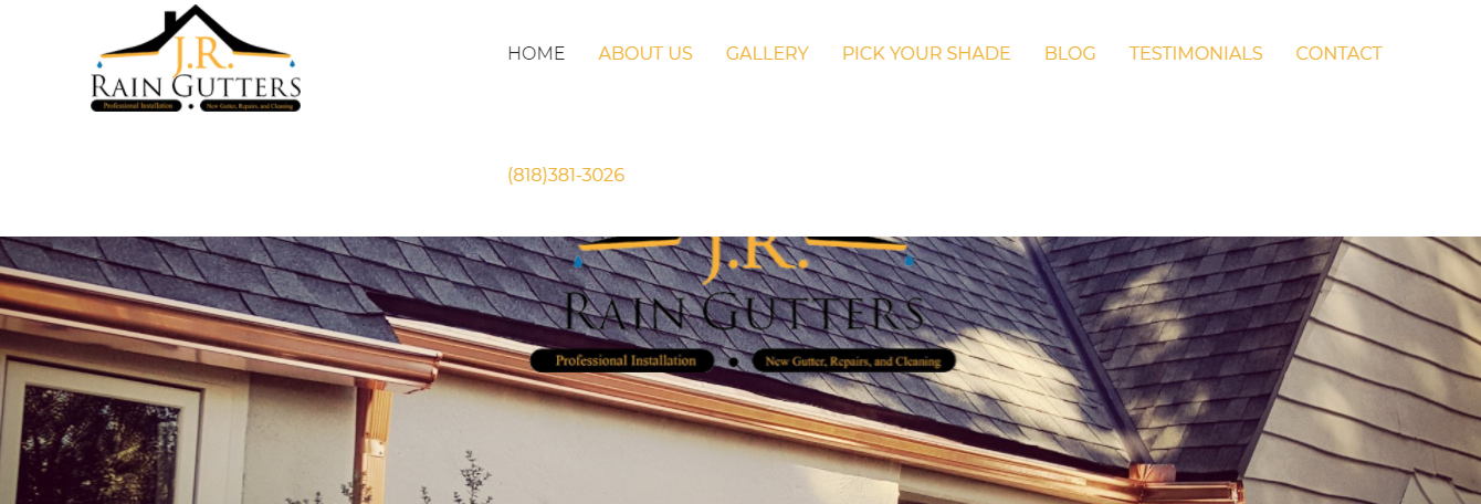 high quality gutters in Los Angeles, CA