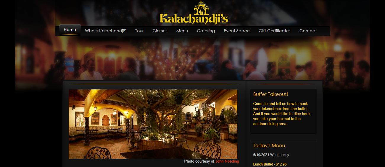 Kalachandji's in Dallas, TX