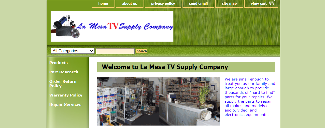 La Mesa TV Supply Company