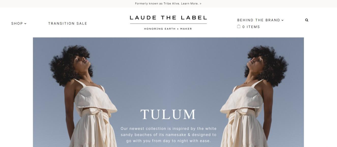 Laude the Label