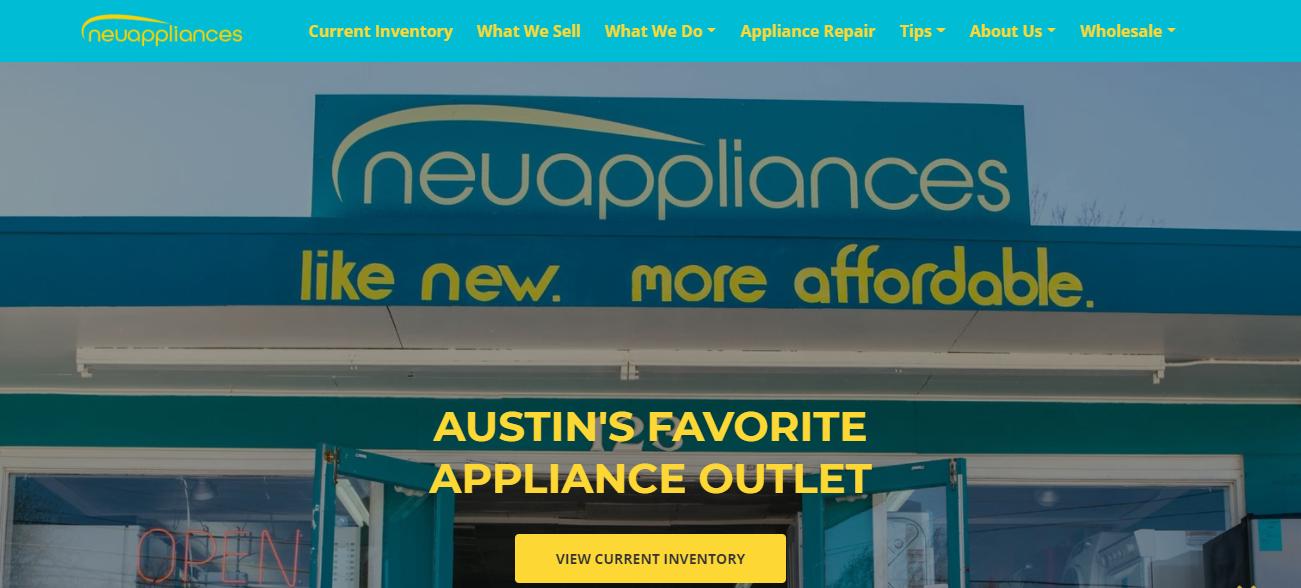 Neu Appliances in Austin, TX