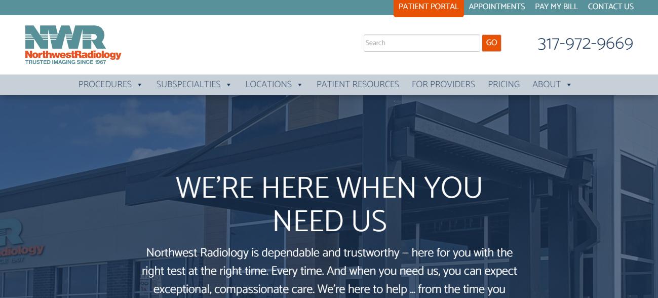 Northwest Radiology in Indianapolis, Indiana