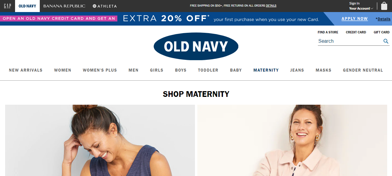 Old Navy in Indianapolis, Indiana