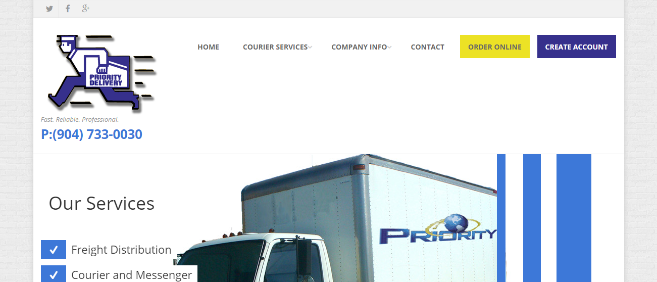 Priority Couriers in Jacksonville, FL