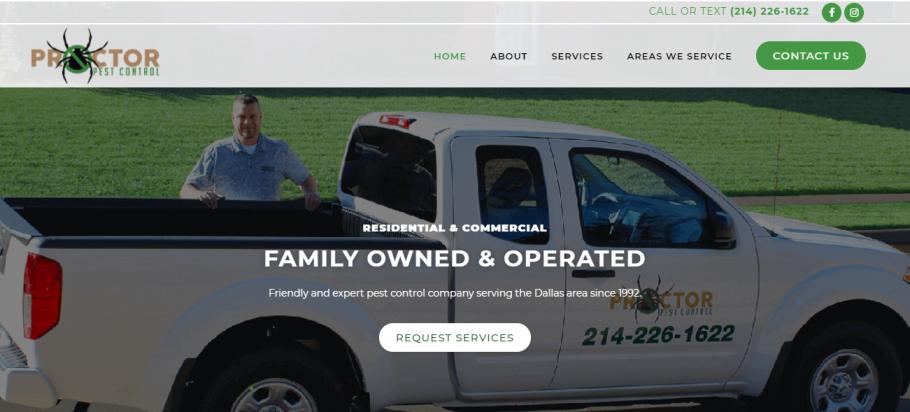 Proctor Pest Control in Dallas, TX