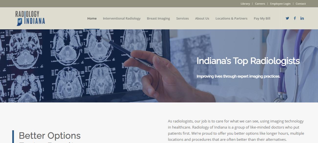Radiology of Indiana of Indianapolis, Indiana