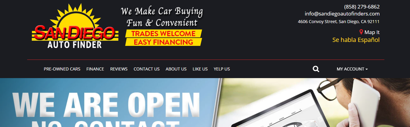 affordable used cars in San Diego, CA