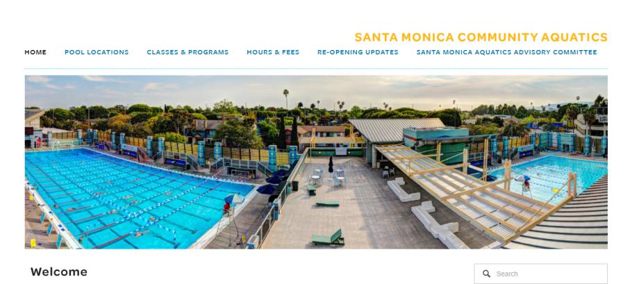 Santa Monica Swim Center in Los Angeles, CA
