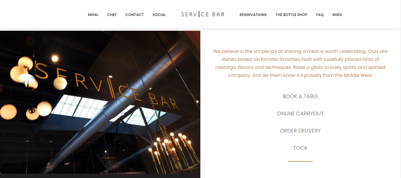Service Bar in Columbus, OH