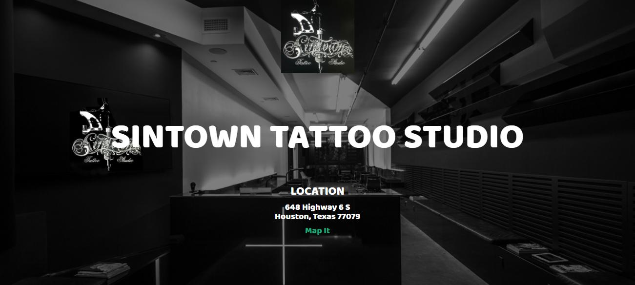 Sintown Tattoo Studio in Houston, TX