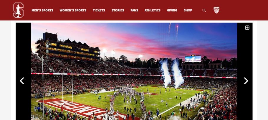 Stanford Stadium in San Jose, CA