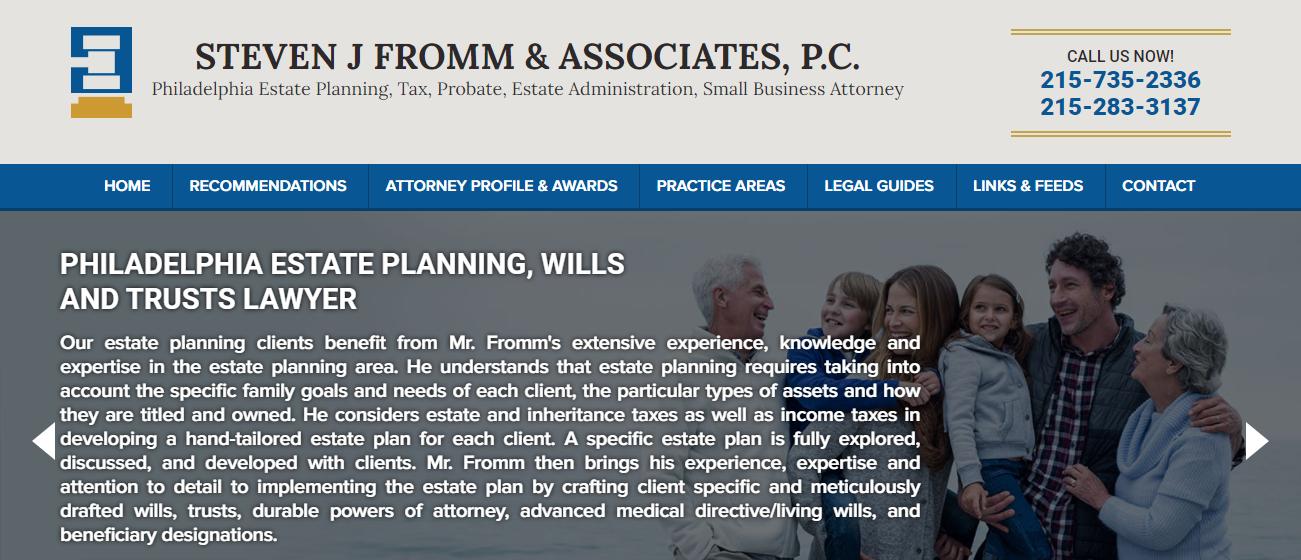 Steven J. Fromm & Associates, P.C. in Philadelphia, PA