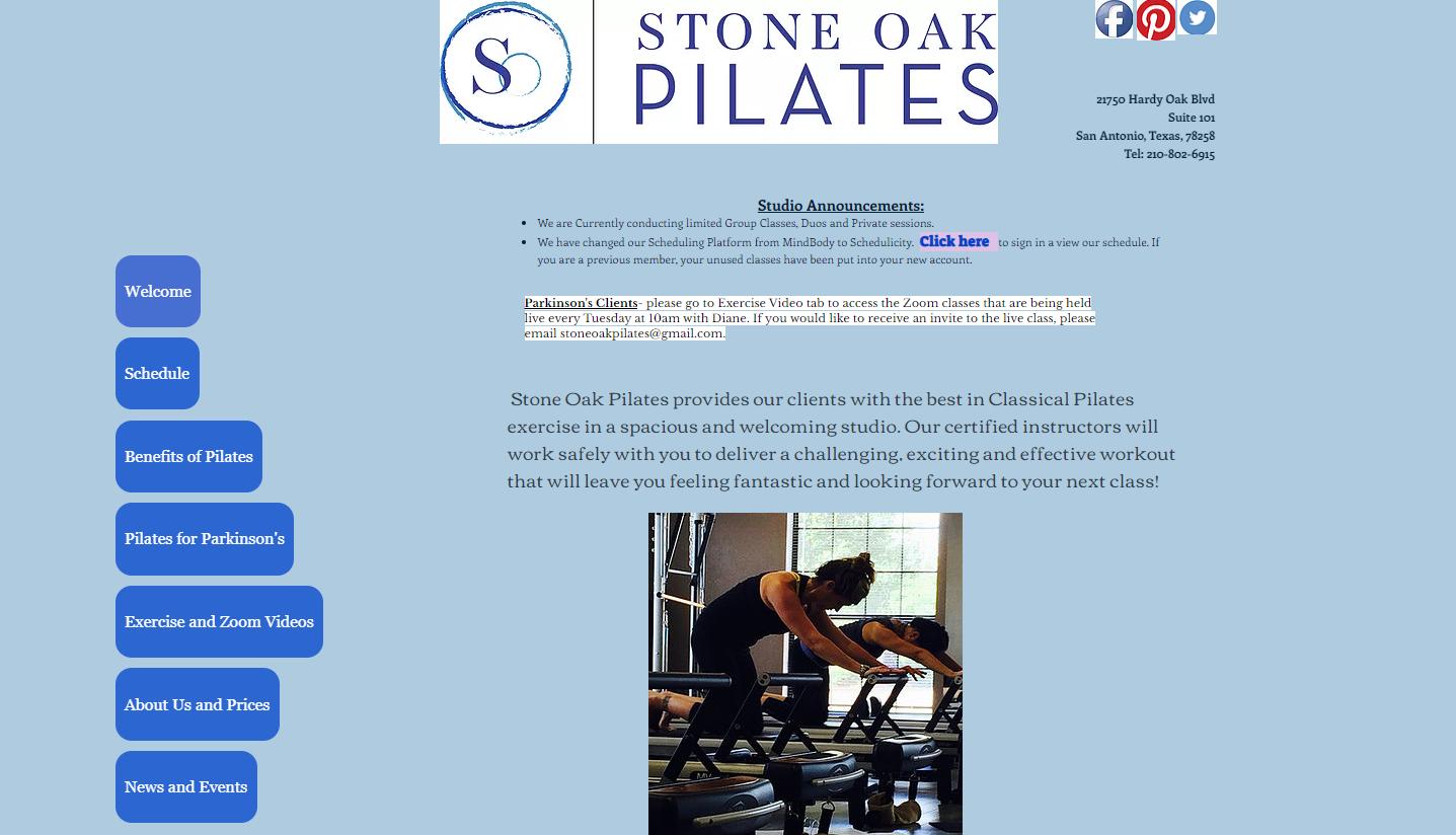 Stone Oak Pilates