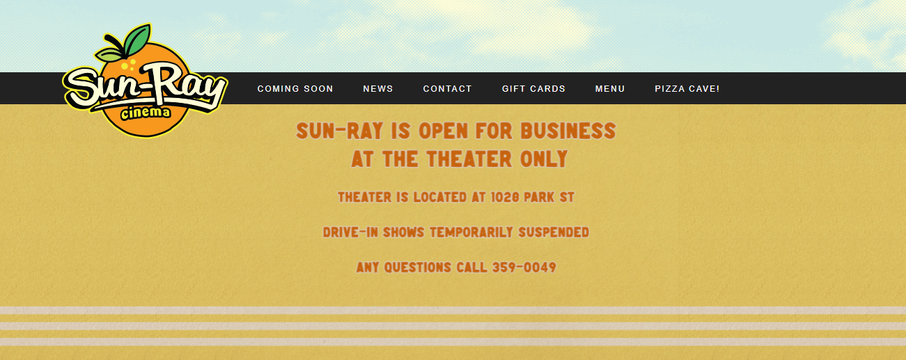 Sun-Ray Cinema in Jacksonville, FL