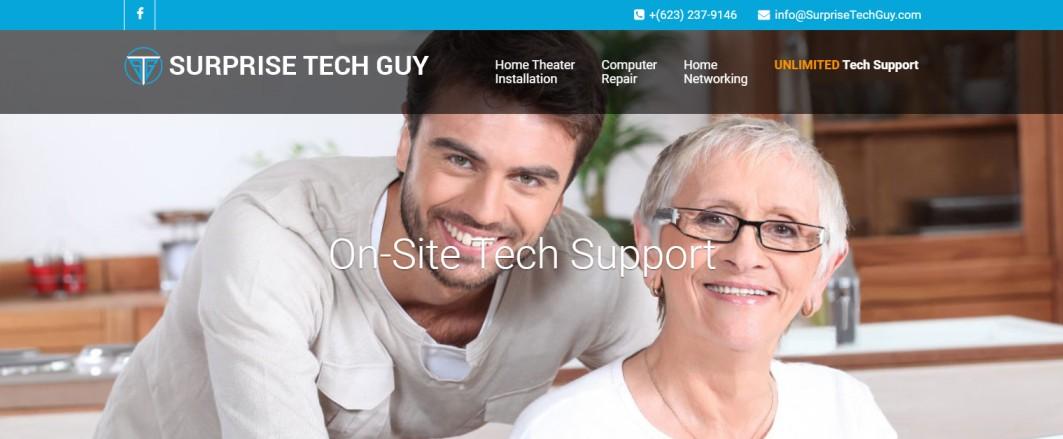 Surprise Tech Guy