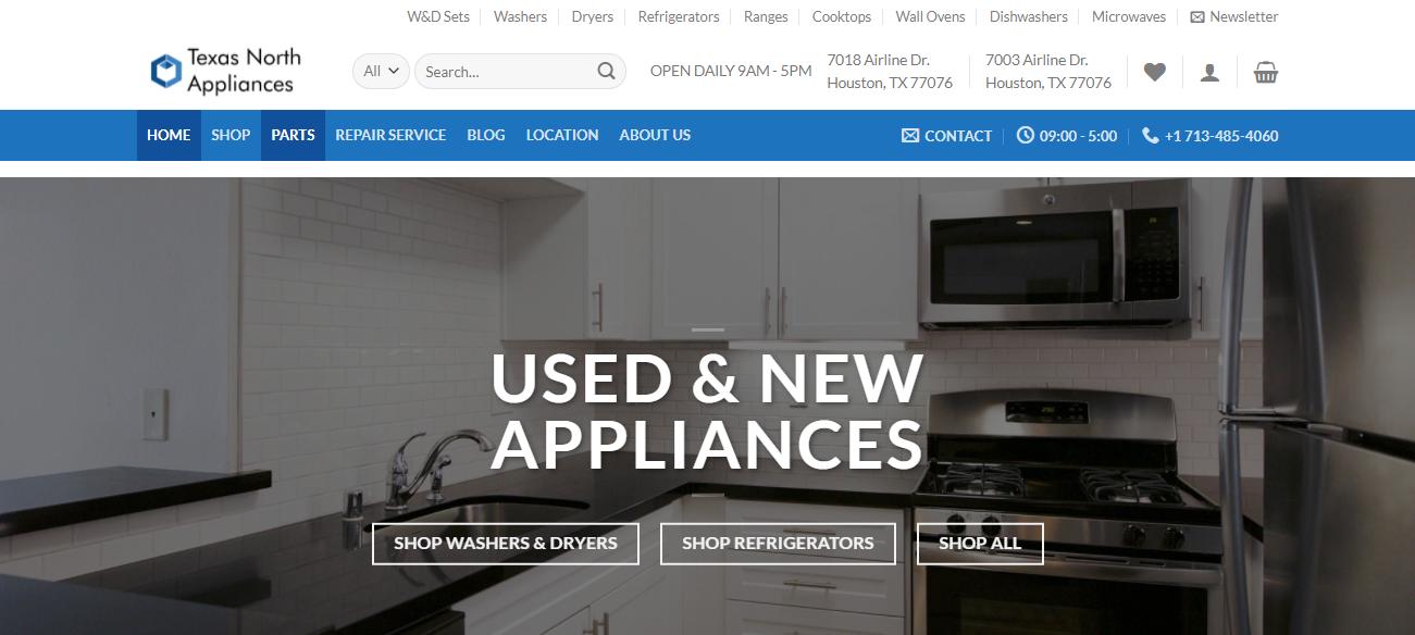 Texas North Appliances in Houston, TX