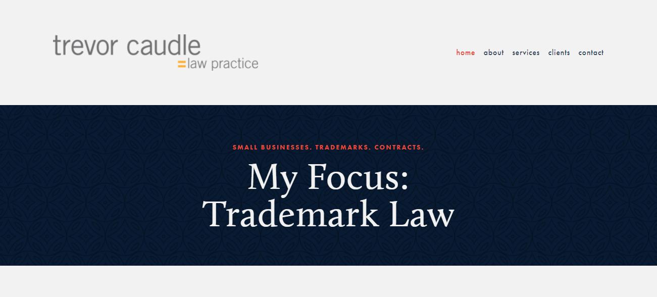 Trevor Caudle Law Practice in San Francisco, CA