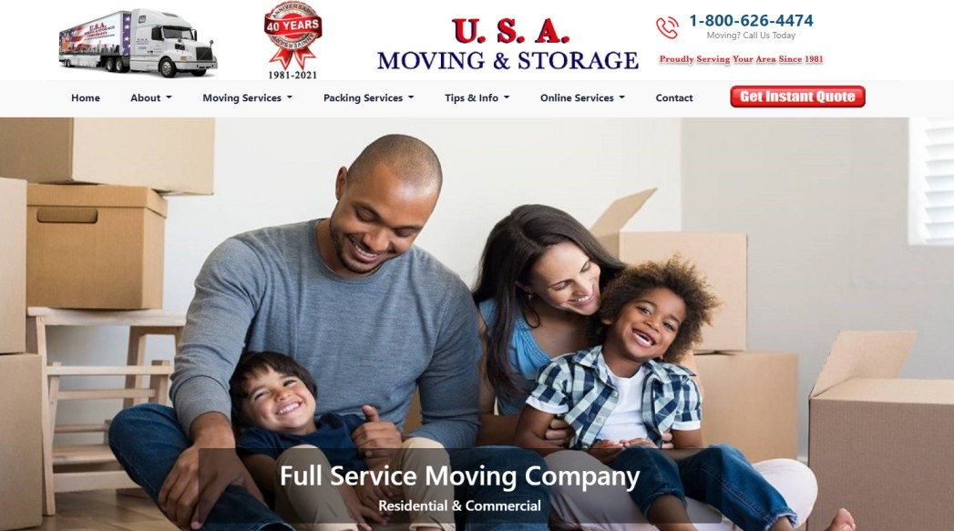 USA Moving and Storage