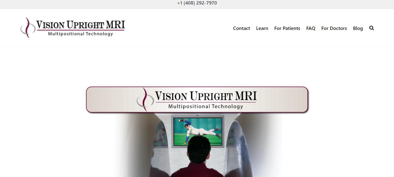 Vision Upright MRI in San Jose, CA