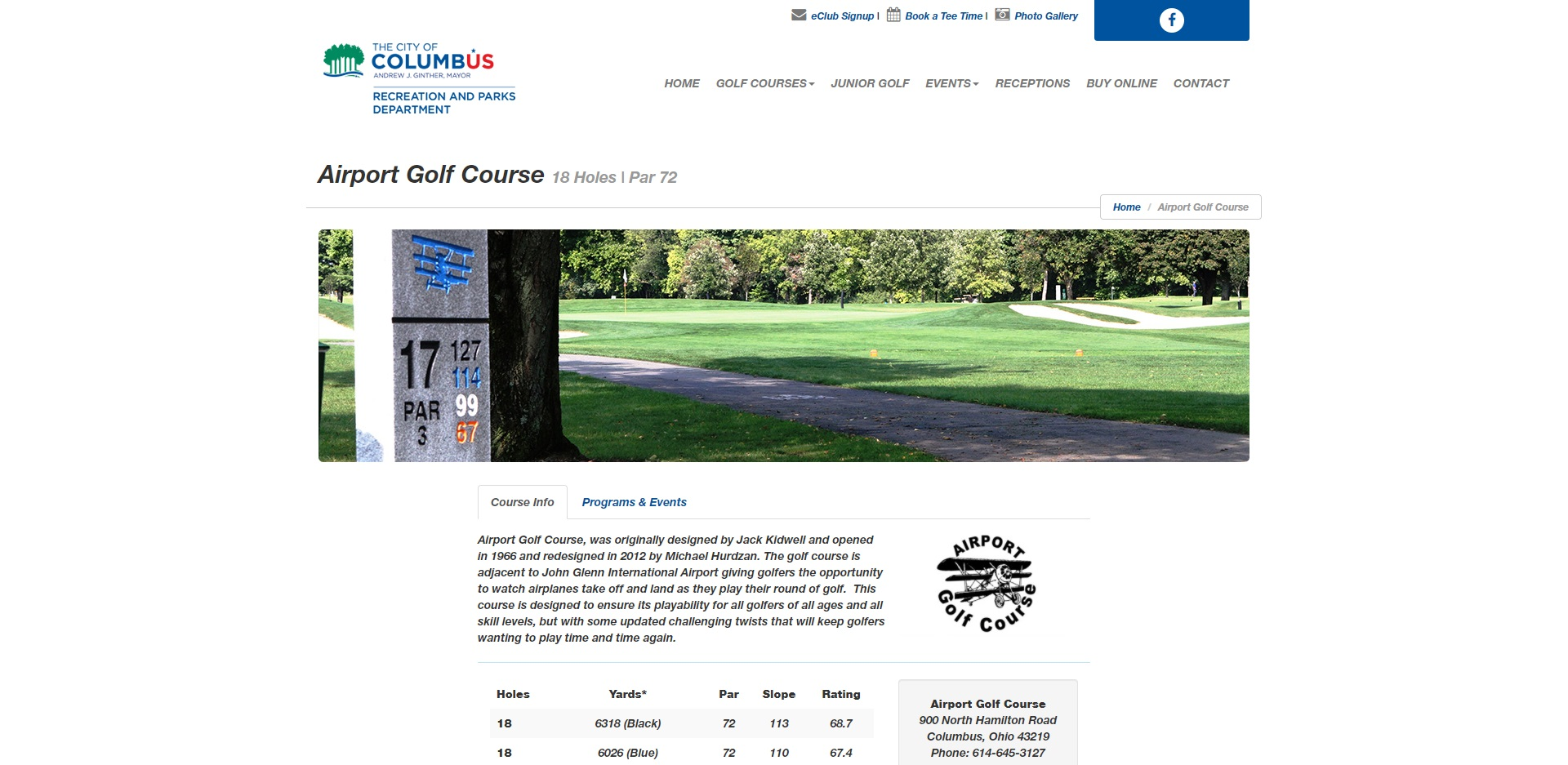 The Best Golf Courses in Columbus