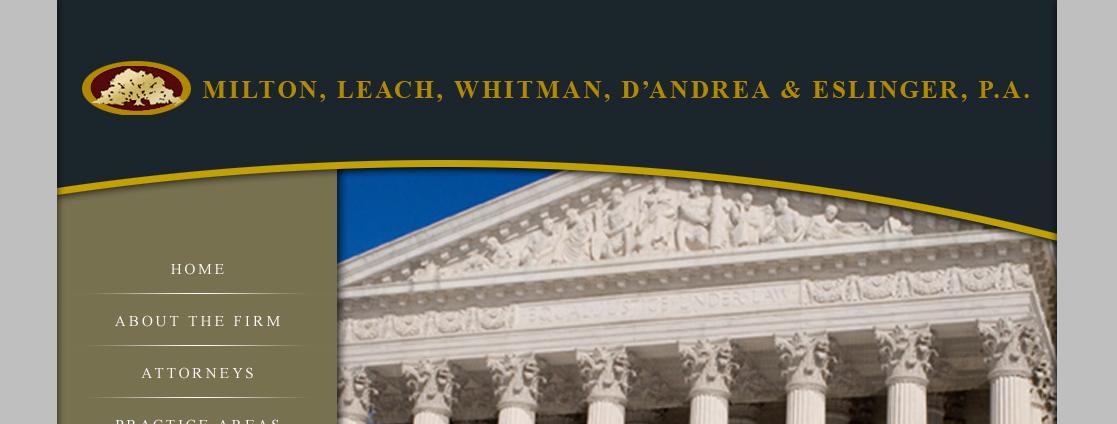 Milton, Leach, Whitman, D'Andrea & Eslinger, PA