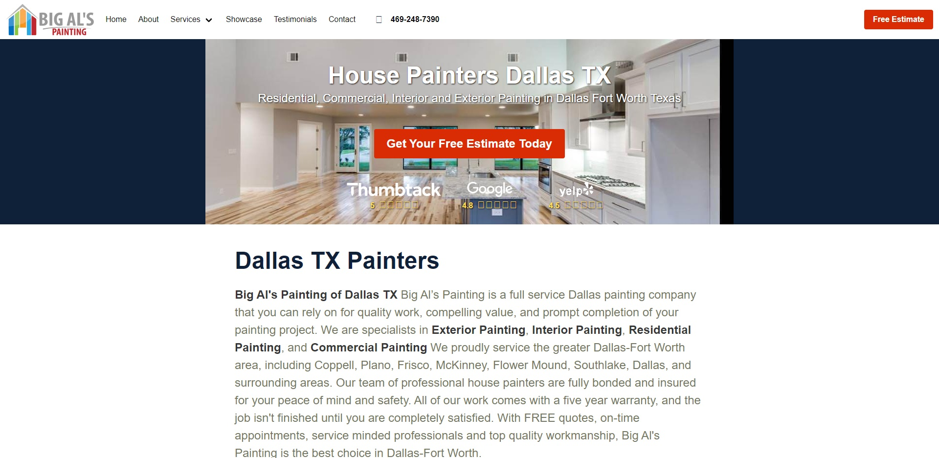 Best Painting in Dallas