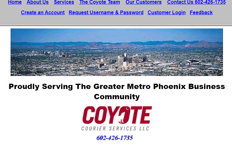 Cayote Courier Services, LLC