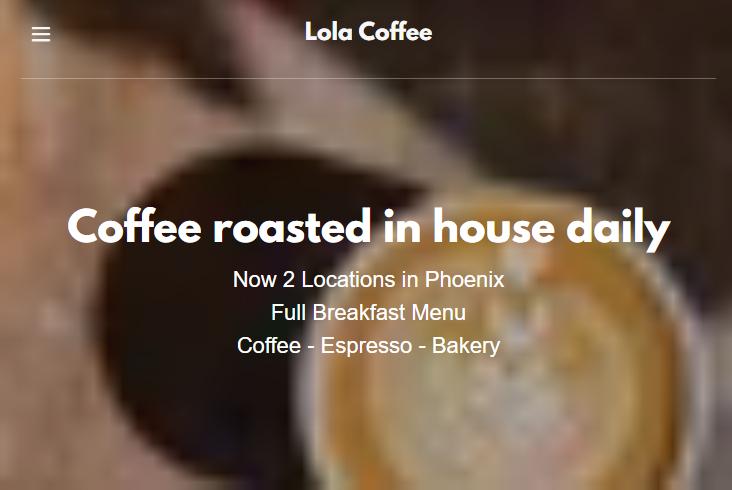 Lola's Coffee