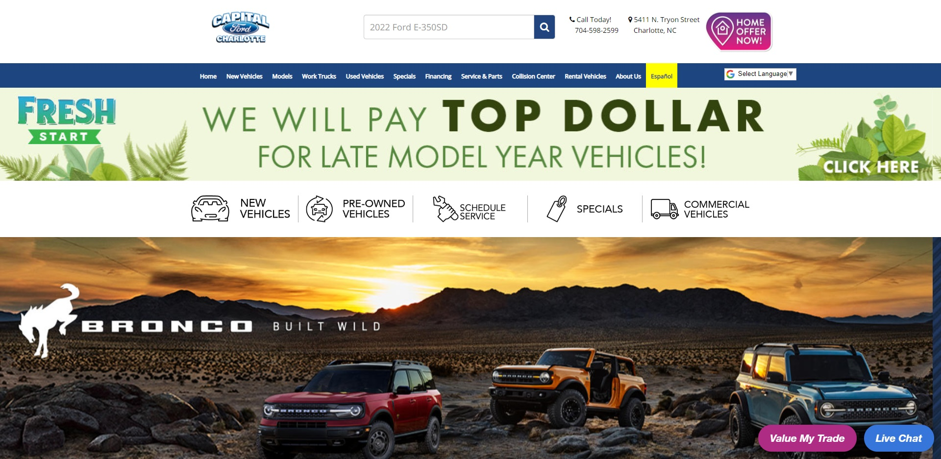 Best Ford Dealers in Charlotte