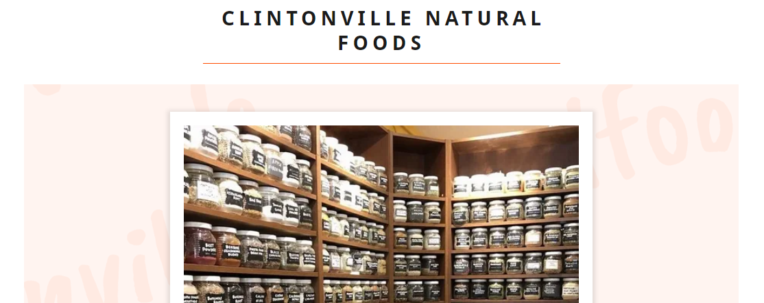 Clintonville Natural Foods
