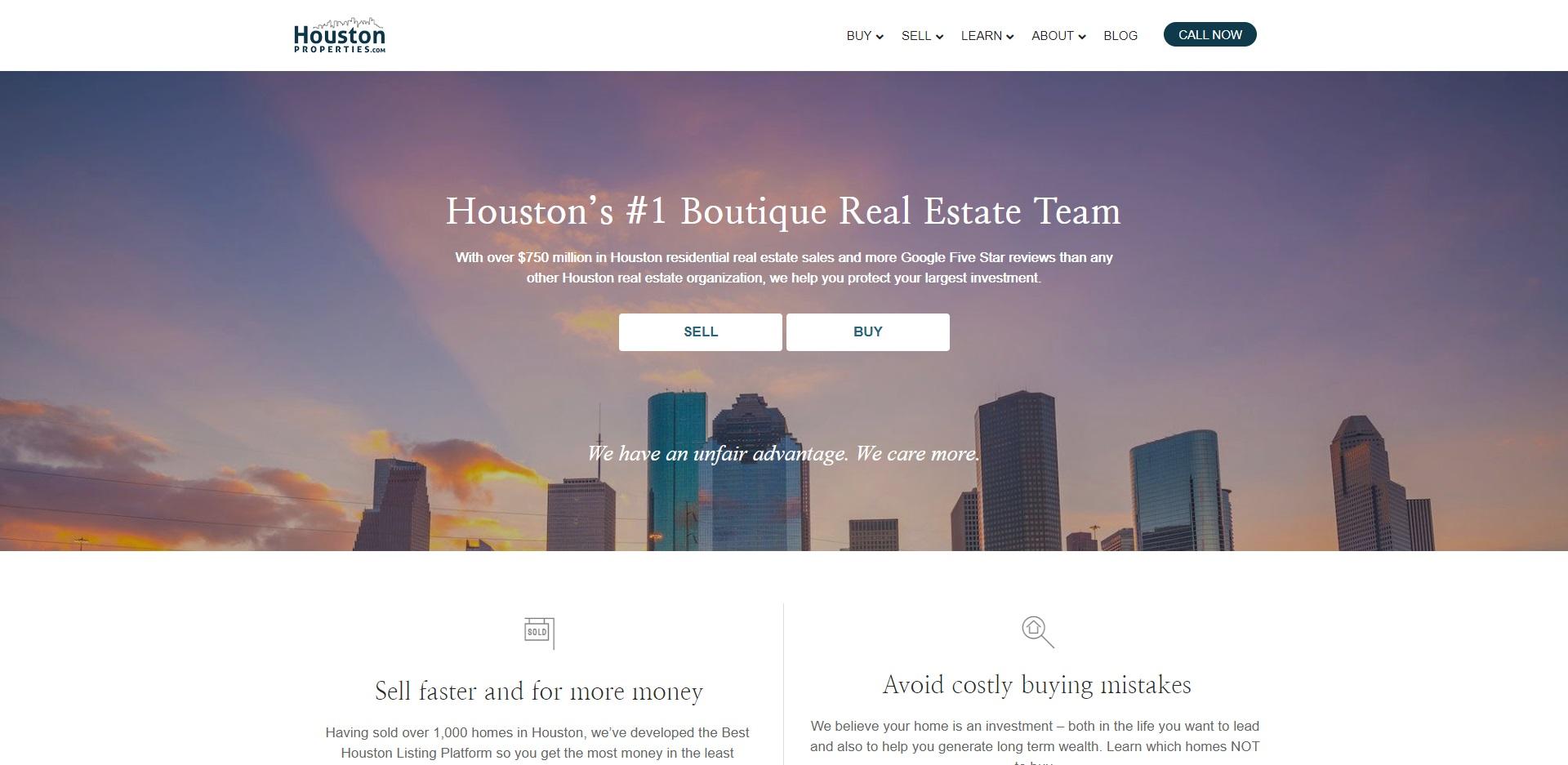 Les meilleurs agents immobiliers à Houston