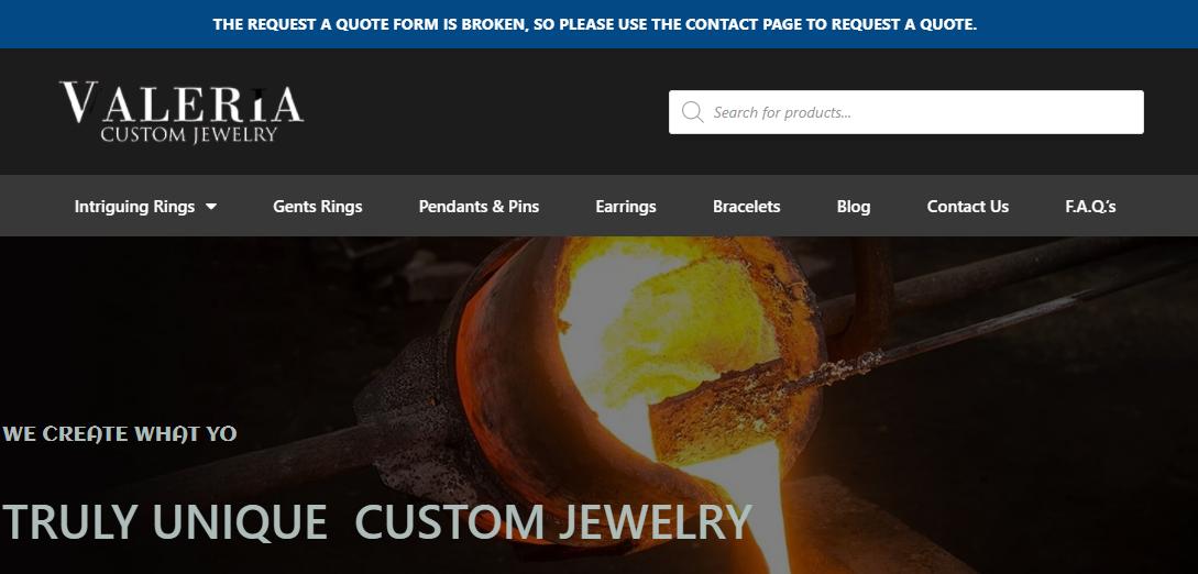Valeria Custom Jewelry