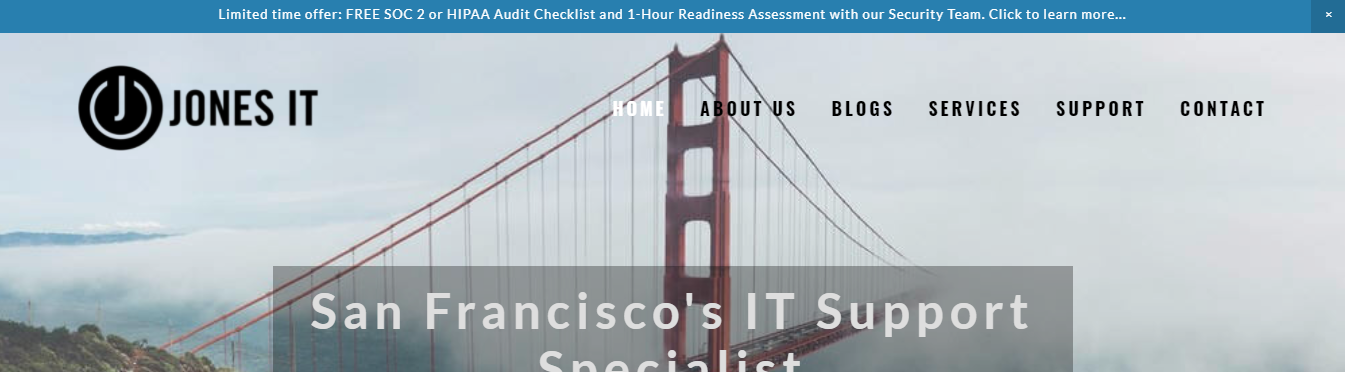 IT Support Specialists in San Francisco, CA