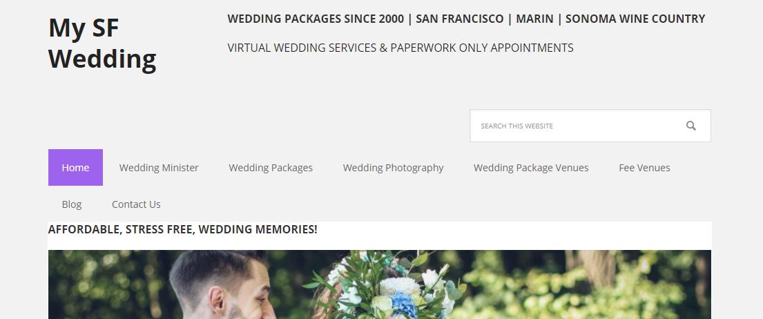 My SF Wedding
