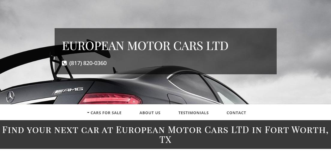 European Motor Cars LTD