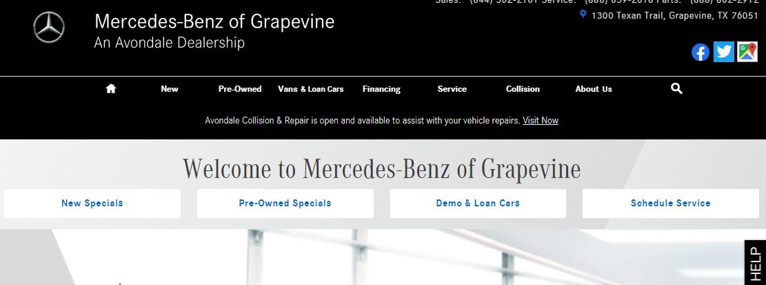 Mercedes- Benz Grapevine