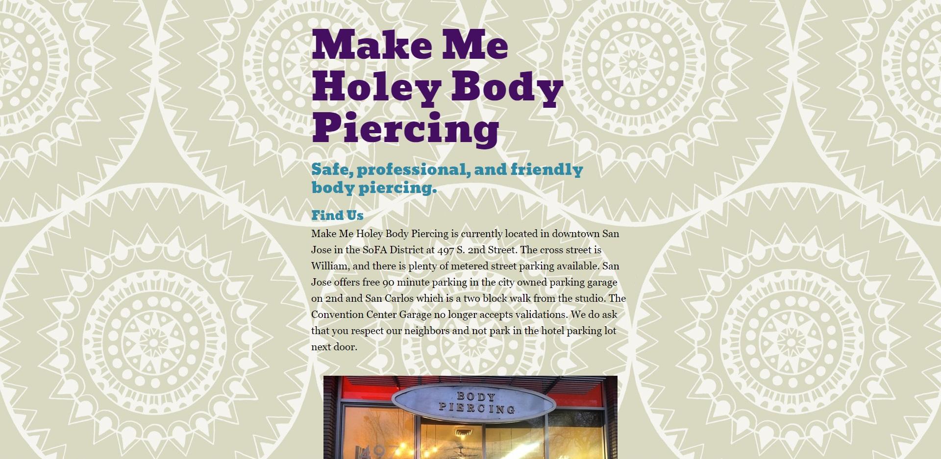 San Jose's Best Body Piercing