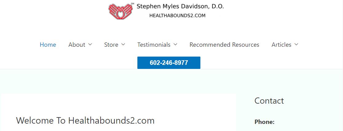 Stephen Myles Davidson, DO