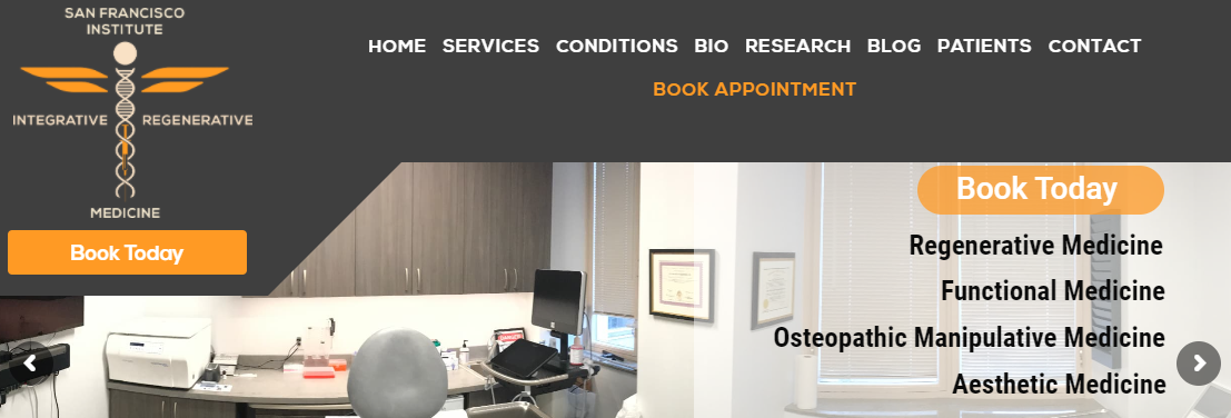 San Francisco Institute for Integrative and Regenerative Medicine