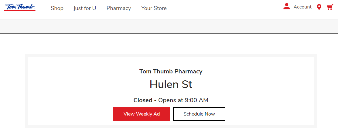 Tom Thumb Pharmacy